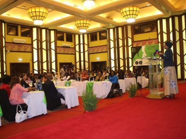 Women Leaders Meet to Consolidate a Common Agenda for Governance Reforms